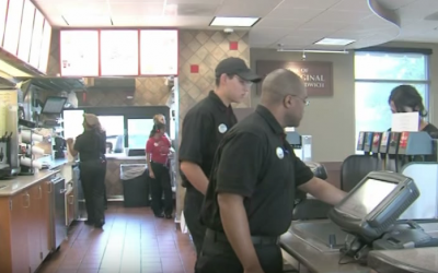 A man pulls up to a Chick-fil-a restaurant and the next 88 people are left speechless